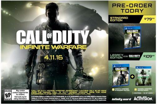 И все-таки Call of Duty Infinite Warfare