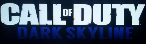 Call of Duty dark skyline