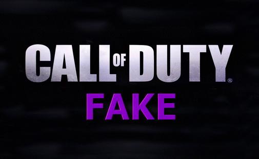 Фейковые Call of Duty