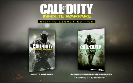 Call of Duty Infinite Warfare Digital Legacy Edition