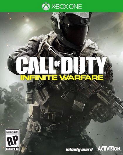 Call of Duty Infinity Warfare новый бокс-арт для Xbox One
