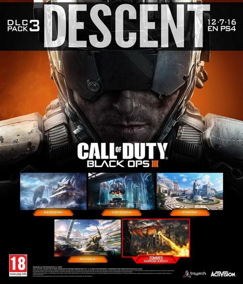 DLC Descent для Black Ops 3