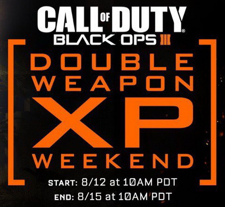 Call of Duty Black Ops III 2xp на оружие