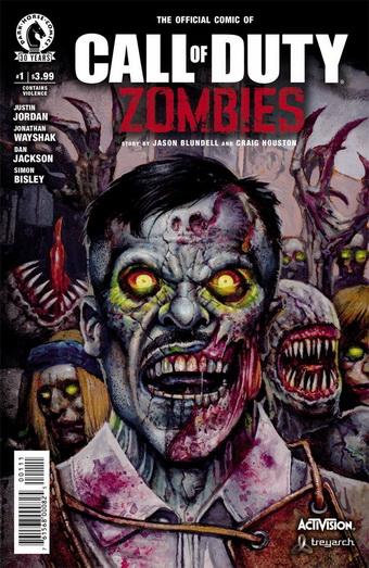 Комикс Call of Duty Zombies