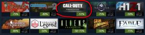 Летняя распродажа Call of Duty в Steam