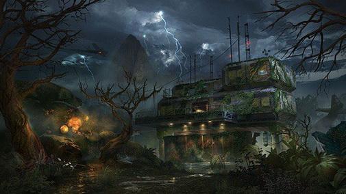 Зомби карта из второго DLC Black Ops 3