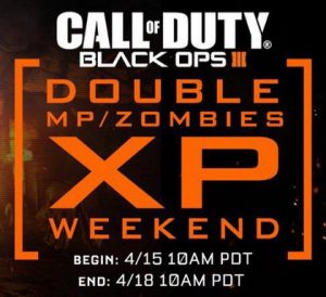 2XP Call of Duty Black Ops 3