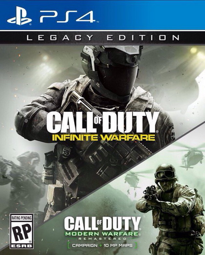 Call of Duty Infinity Warfare новый постер Legasy Edition