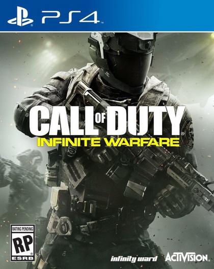 Call of Duty Infinity Warfare новый бокс-арт для PS4