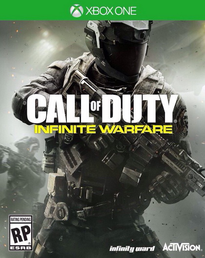 Call of Duty Infinity Warfare новый бокс-арт для Xbox One