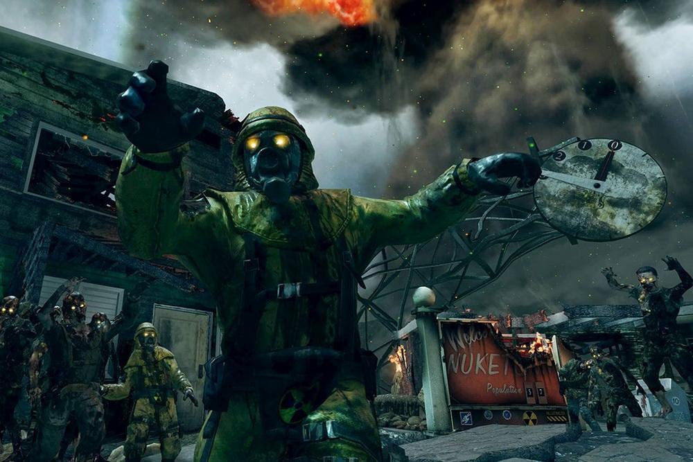 Nuketown Black Ops Зомби режим
